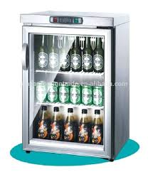 glass door mini refrigerator supermarket equipment manufacturer 3 door glass mini fridge table top bar refrigerator