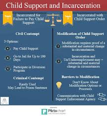 California Child Support Percentage Chart Child Support And Incarceration