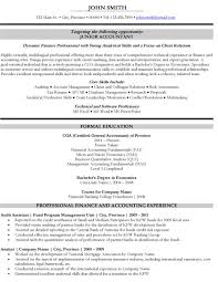 Junior Accountant Resume