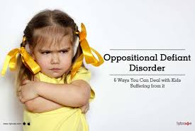 oppositional defiant disorder 6 ways you can deal with kids suffering from it