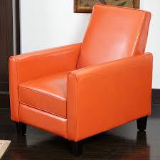 amazoncom best selling davis leather recliner club chair burnt