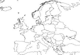 Blank Map Of Europe Africa And Asia And Travel Information