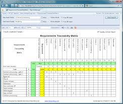 requirements traceability matrix templates requirements traceability matrix report projects project