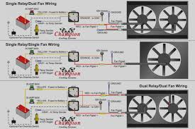 dual electric fan wiring diagram relay valid at allove me dual fan relay wiring diagram