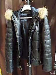 Зимняя <b>куртка Alessandro Manzoni</b> из натуральной кожи (48 р-р ...