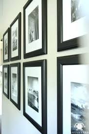 gallery perfect 9 piece picture frame set white sets black and travel wall other ideas rod