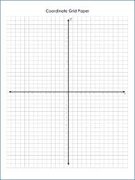 Printable Grids Math Graph Paper For Blank Coordinate Free