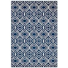 frame transitional moroccan trellis 8x10 area rug moroccan blue and ivory