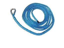 1 4 10ft atv snow plow lift rope synthetic winch rope boat winch cable snow plow attachments blue for info go to s caraccess