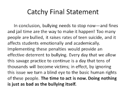 persuasive essay ppt video online 24 catchy final statement
