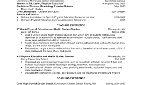 Examples Of Teachers Resumes Teaching Cv Template Pic Teacher