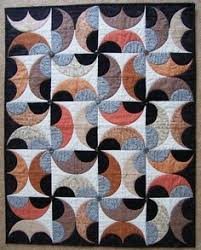 Drunkards Path Quilt Pattern Magnificent Drunkard's Path Variations Curves Made Modern SewingQuiltsCraft