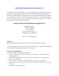 Electrical Engineer Resume Sample Electrical Engineer Responsibilities Elegant Amusing Power Plant 45