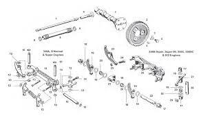 porsche 356 rocker shafts lifters and arms valve train