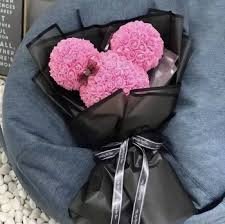 Valentines Day Ideas For Girlfriend 2019 Valentines Day Gift For Girlfriend Creative Artificial Mickey Minnie Flower Hand Holding Flowers Pink And Red Buy Valentines Day Artificial
