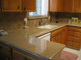modern granite kitchen countertops with wall mounted kitchen cabinet