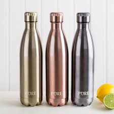 pure thermal re double wall 750ml water bottle asstd kitchen stuff plus
