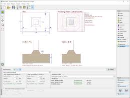 Pad Foundation Design Example Spread Footing Geotechnical Software Geo5 Fine