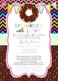 Invite Templates For Word Adorable Free By Shower Invitation Templates Word Of Donut Party Template