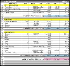 House Building Budget Spreadsheet Tirevi Fontanacountryinn Com