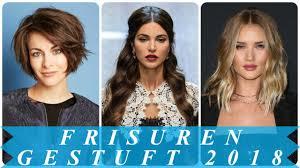Damen Aktuelle Frisuren Stufenschnitt 2018 Youtube Trendfrisuren Damen