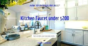 modern kitchen faucets best rinse faucet fresh under ing guide reviews mo pull kohler malleco touchless