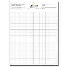 Custom Engineering Paper Custom Graph Paper Pads Captain