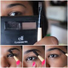 elf eyebrow kit tutorial. dip the tip of brush into your kit, place it right under eyebrow, and follow natural flow brow from beginning to end. elf eyebrow kit tutorial l