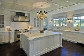 kitchen white shaker kitchen cabinets quartz countertops mix pull down sprayer faucet cream color scheme