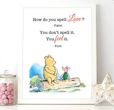 Winnie The Pooh Love Quotes 11 Awesome Printable Milne Quote Winnie The Pooh Piglet How Do You