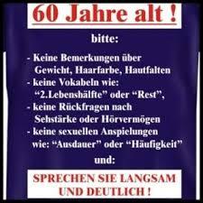 Lustige Kurze Spr He Zum 60 Geburtstag Mann Spruchwebsite