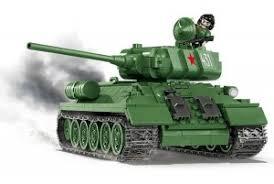 """<b>Пластиковый конструктор COBI</b> """"Танк T-34-85"""" - COBI-2476A"""