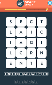 WordBrain 2 Space Level 4 Answers (4x5)   OozeGames.com