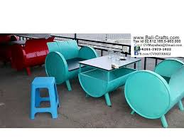 drum furniture. Oildrm1-26 Upcycle Oill Drum Metal Furniture Bali Indonesia T