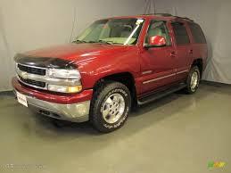 2002 Redfire Metallic Chevrolet Tahoe LT 4x4 #36193540 | GTCarLot ...