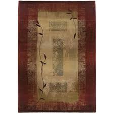 Small Picture Home Decorators Collection Mantra Red 9 ft 9 in x 12 ft 2 in