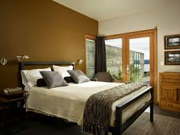 Neutral Bedroom Decor Captivating Neutral Bedroom For Young Couple With Coved Ceiling