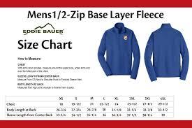 Birddawg Embroidered Eddie Bauer Mens Base Layer Fleece