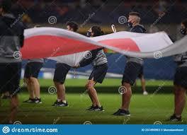 Partita Di Calcio Della Lega Delle Nazioni Dell'uefa : Italia Contro Spagna  Milano Italia 6 Ottobre 2021 Fotografia Stock Editoriale - Immagine di  squadra, tazza: 231495953