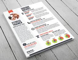 Personal Trainer Resume Adorable Fitness Trainer Resume Templates For CV