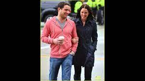 Rachel Nichols and her husband Michael ...