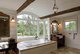 Interesting Country Master Bathroom Ideas With Limestone Tile Floors Ms On Beautiful Design