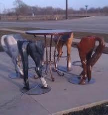ranch random stuff horse stick family hillbilly country big happy amazing animal bar stools r38