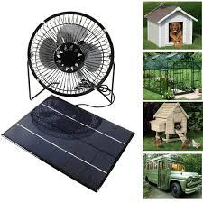 Solar Gazebo Fan Light Amazon Com Solar Powered Fan 10w 4 Inch Free Energy Green