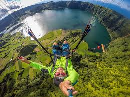 what to do sao miguel paragliding sao miguel azores photo credits jean baptiste chandelier