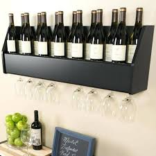 wall mount wine rack wood finally we have a more elaborate setup with a full wooden wall mount wine rack wood