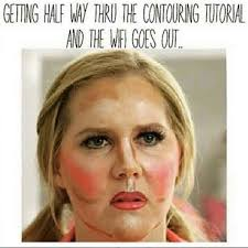 getting half way thru the contouring tutorial