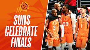 Phoenix Suns CELEBRATE NBA FINALS BERTH ...