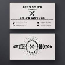 Auto Repair Business Cards Car Repair Service Business Card Psd File