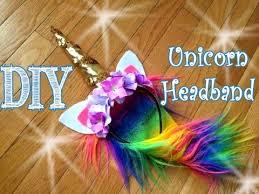 DIY <b>Unicorn Headband</b> - YouTube